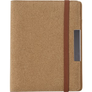 A5 Cork portfolio, Brown (0965-11)