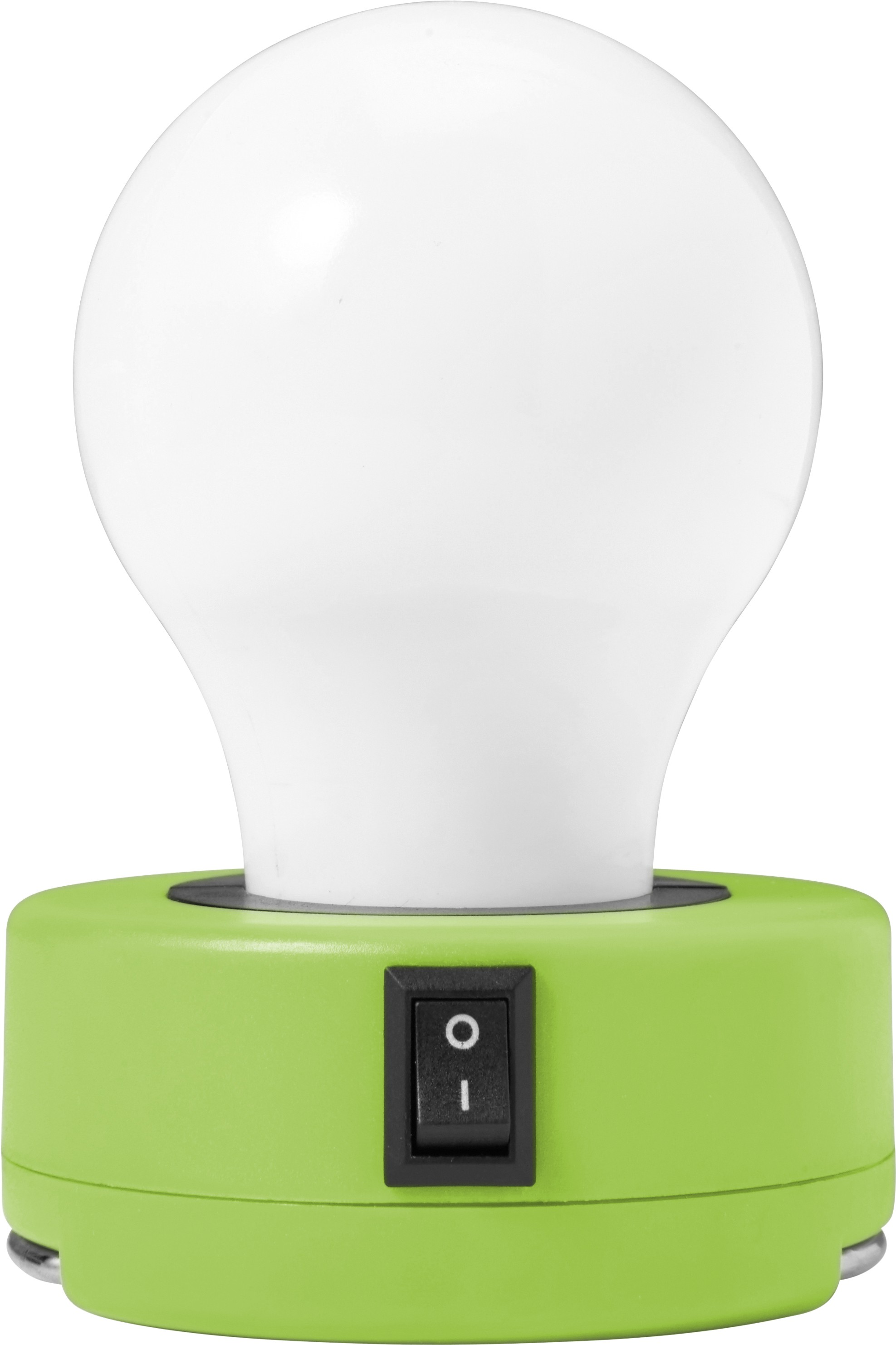 ABS Bulb light with on/off-switch, Light green (flashlights ...