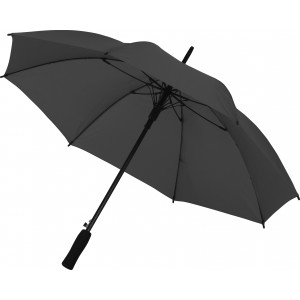 Automatic polyester (190T) umbrella, black (0945-01)