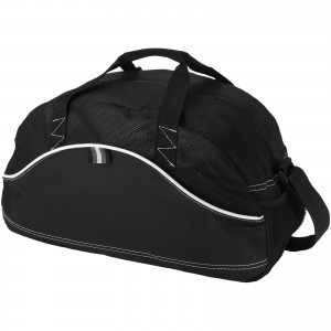 Boomerang duffel bag, solid black (11953200)