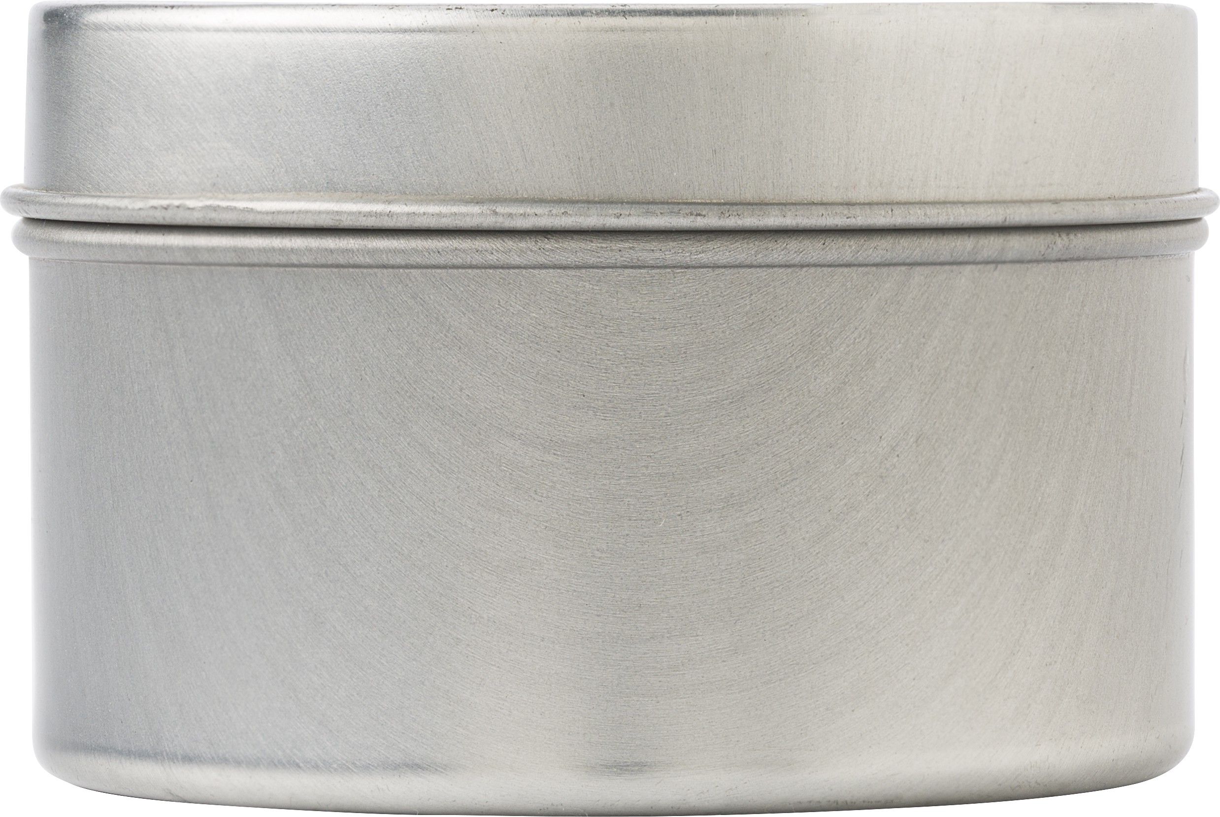 Citronella Candle In Tin Container, Silver (candle)