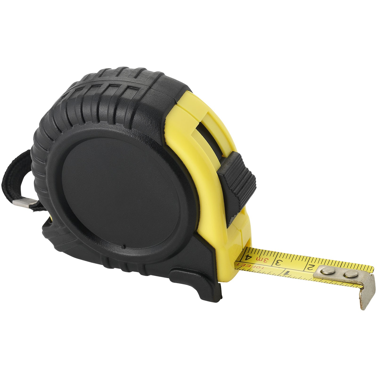 Cliff 3M measuring tape, solid black, 6 x 3,5 x 5,9 cm