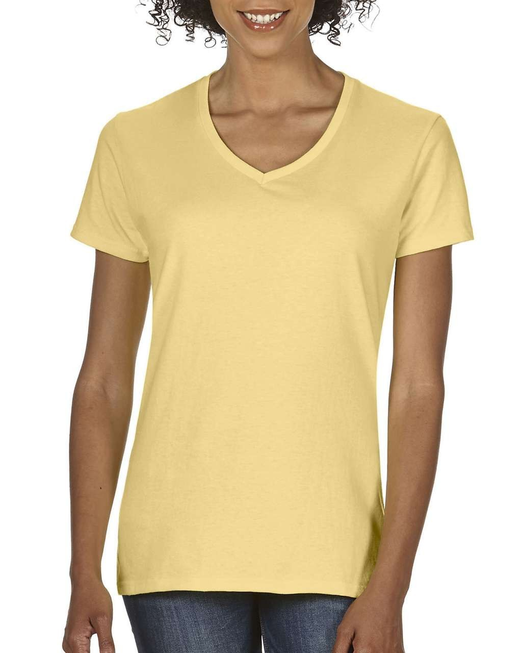 Comfort Colors Ladies V-Neck Tee 7934bd8153