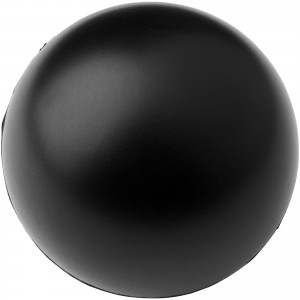 Cool round stress reliever, solid black (10210007)