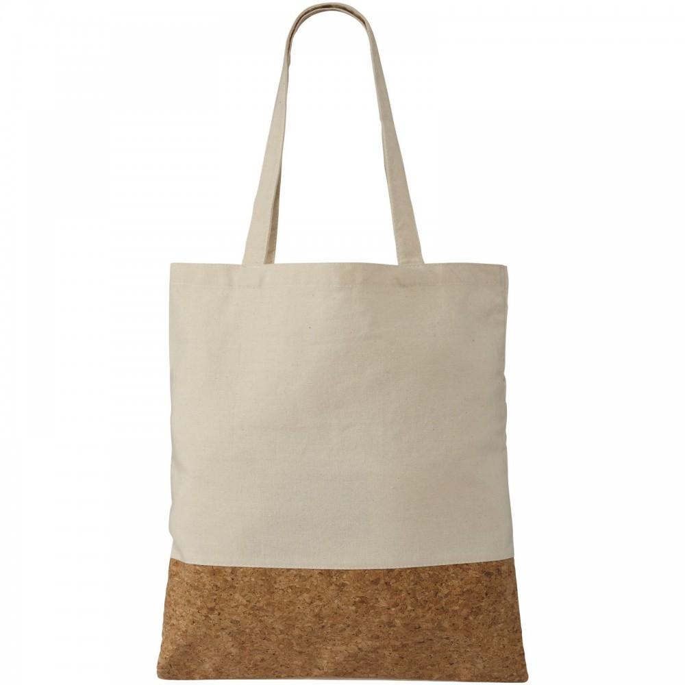 Cory 175 gm? cotton and cork tote bag, Natural (shopping