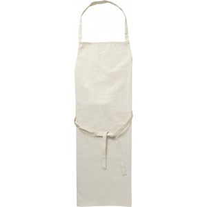Cotton (180g/m?) apron, khaki (Kitchen textiles)