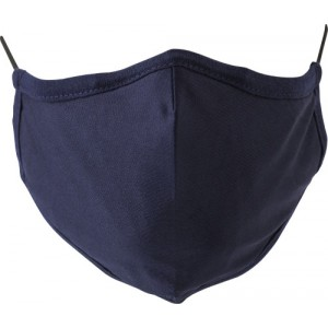 Cotton mask with 7 layers, navy (423316-536)