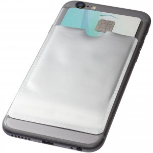Exeter RFID smartphone card wallet, Silver (wallet)