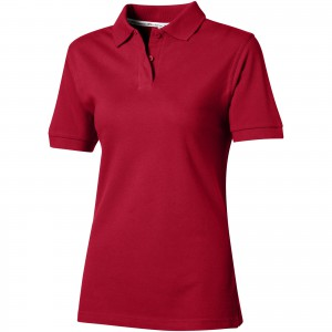 Forehand short sleeve ladies polo, Dark red (33S0328)