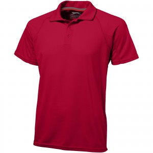 Game short sleeve men's cool fit polo, Red (3310825)