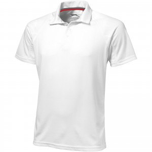 Game short sleeve men's cool fit polo, White (3310801)