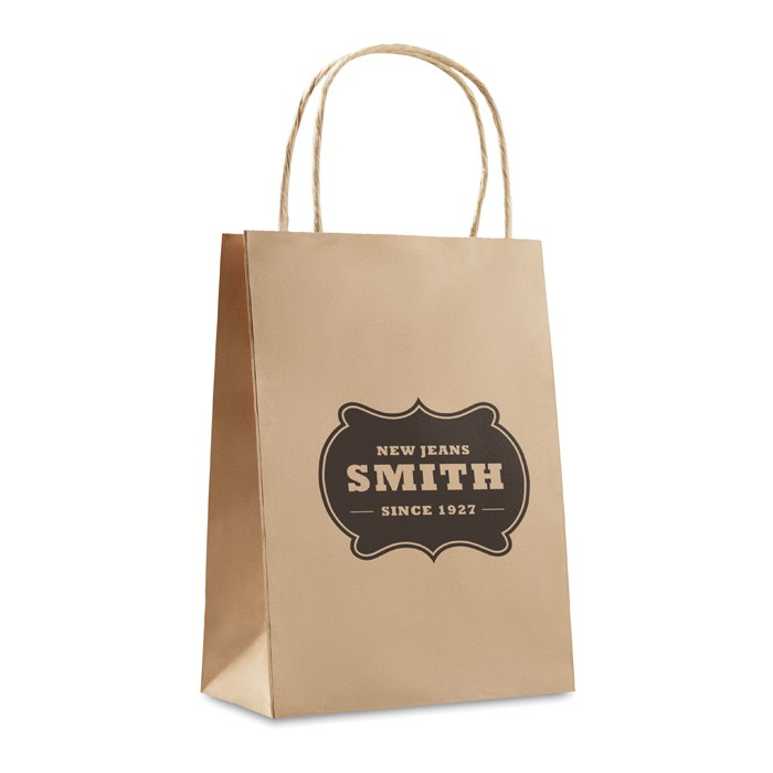 Gift Paper Bag Small Size Box Case