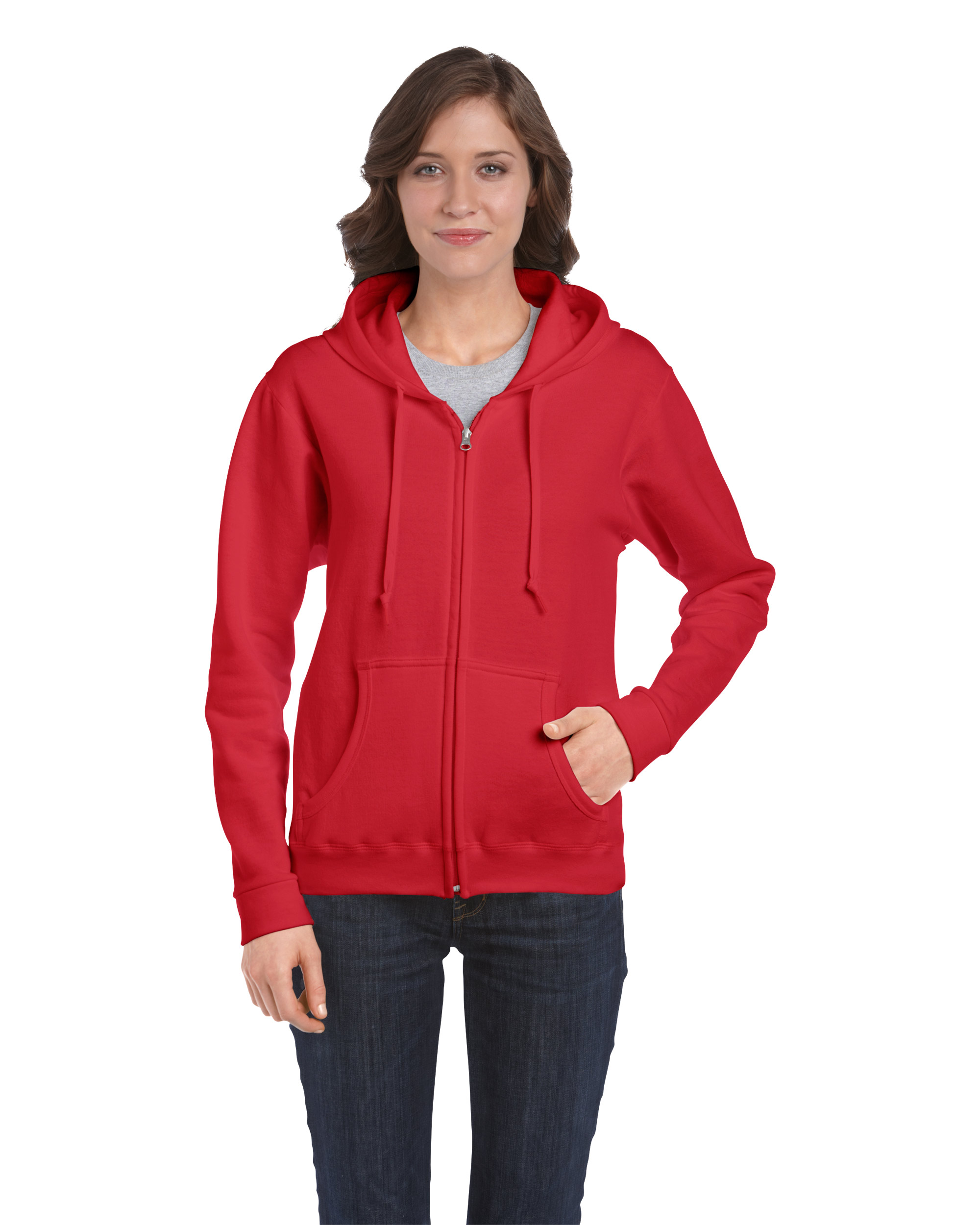 Gildan Heavy Blend Ladies Hooded Sweatshirt eaf4ae40e2
