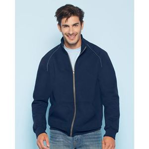 Gildan Premium Full Zip Jacket, Navy, L (GI92900NV)
