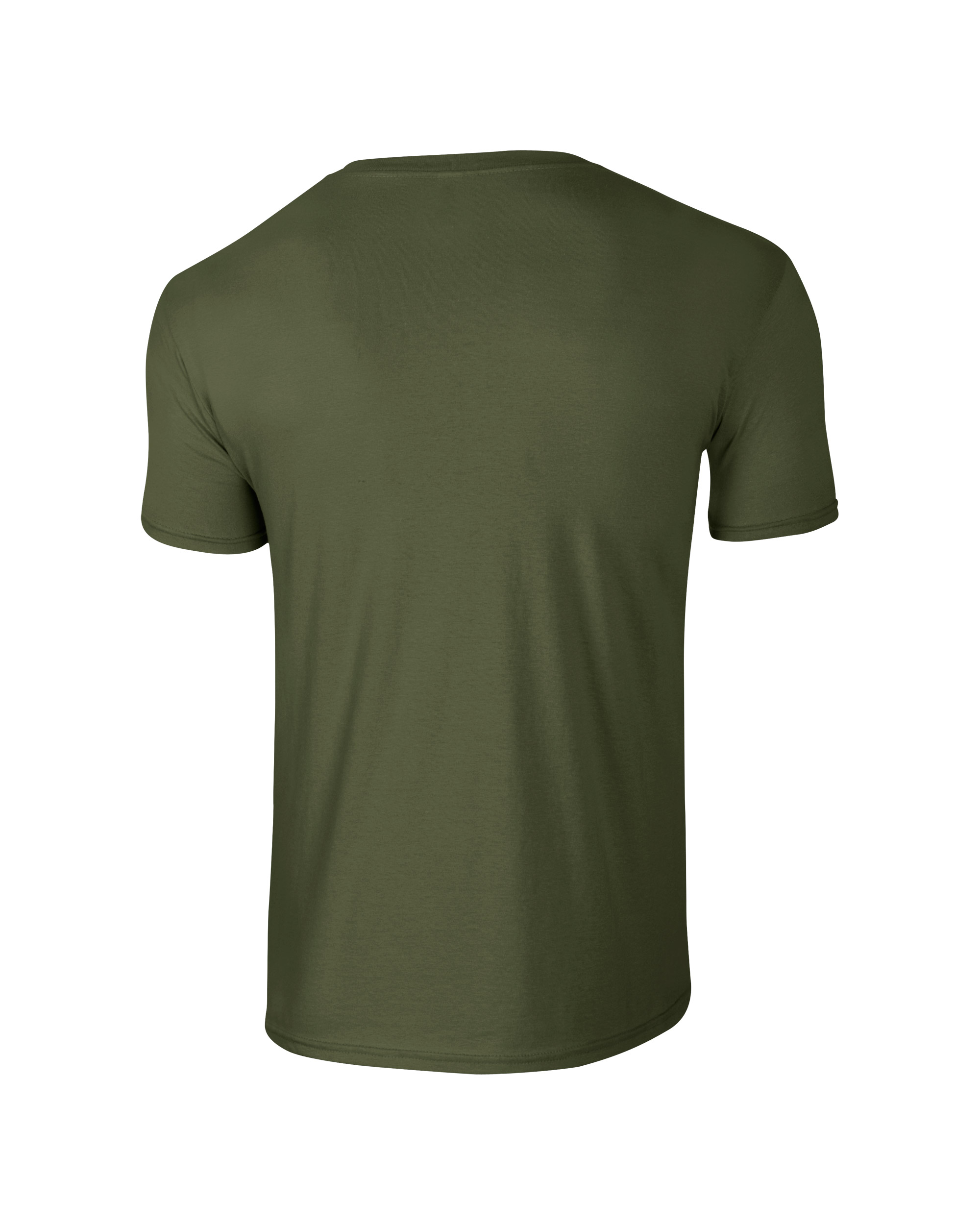 gildan softstyle adult t shirt military green 2xl. Black Bedroom Furniture Sets. Home Design Ideas