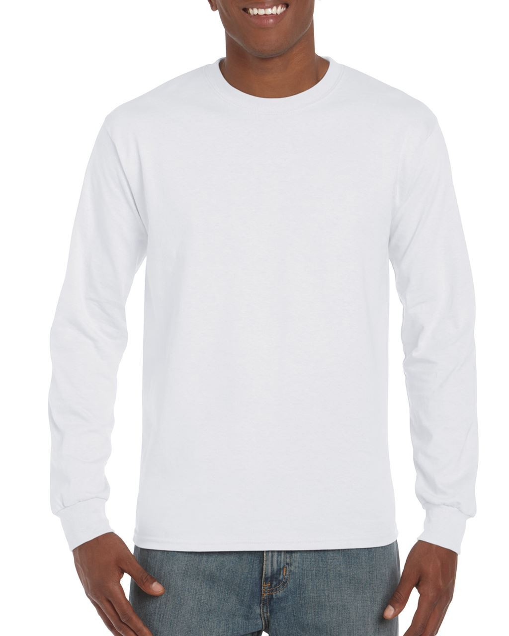 2cd361f8d Gildan Ultra Cotton Adult Long Sleeve T-shirt, White, M (long.sleeve ...