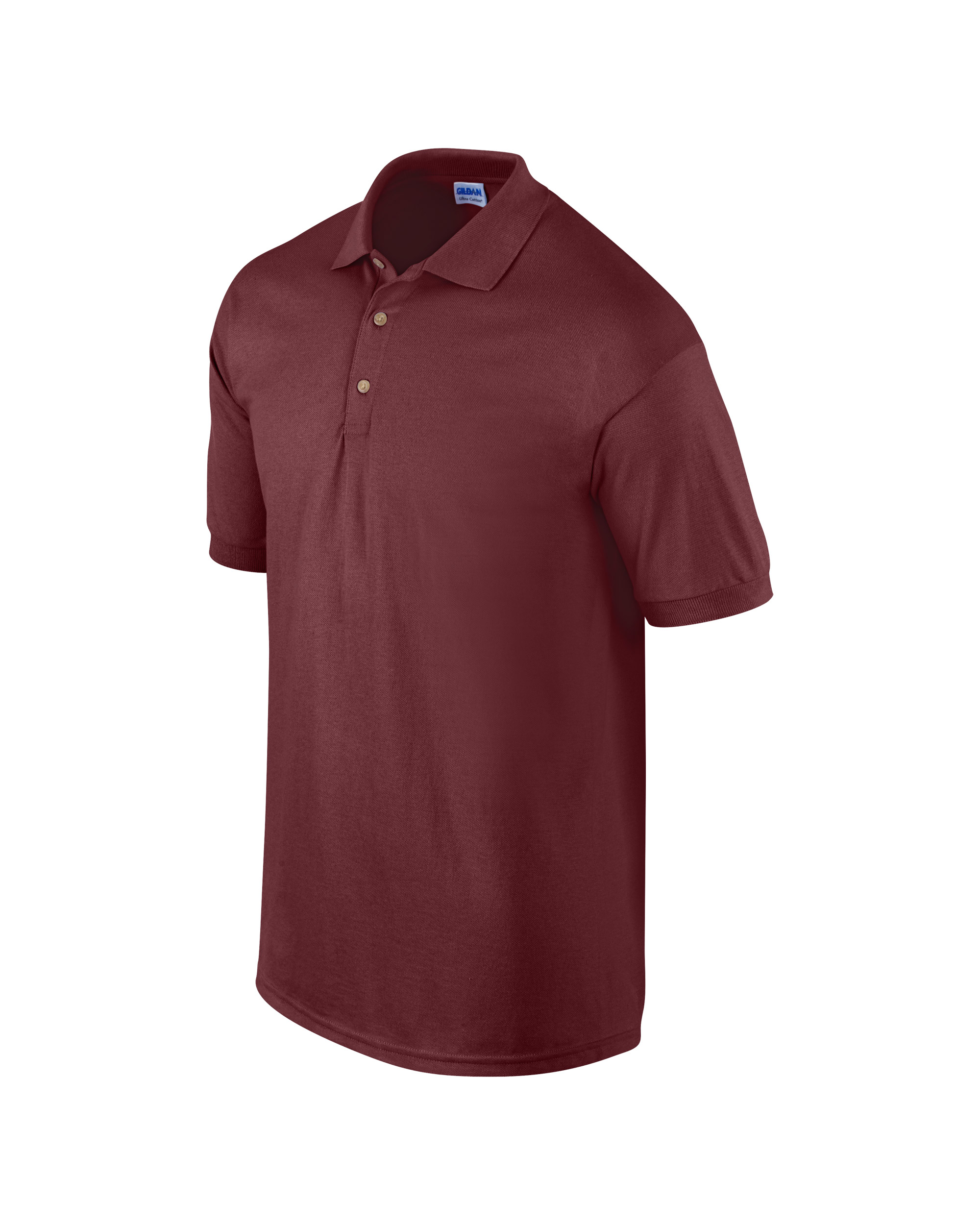 Gildan Ultra Cotton Adults Pique Polo Maroon 3xl T Shirt