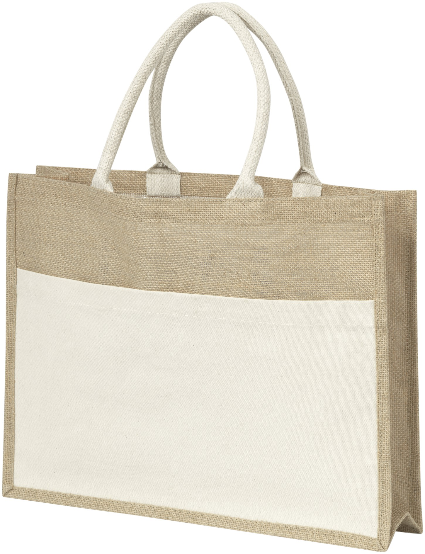 Jute Bag With Plastic Backing Natural Canvas Bags