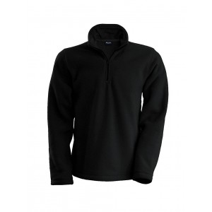 Kariban Enzo Micro Fleece Top, Black, 2XL (KA912BL)