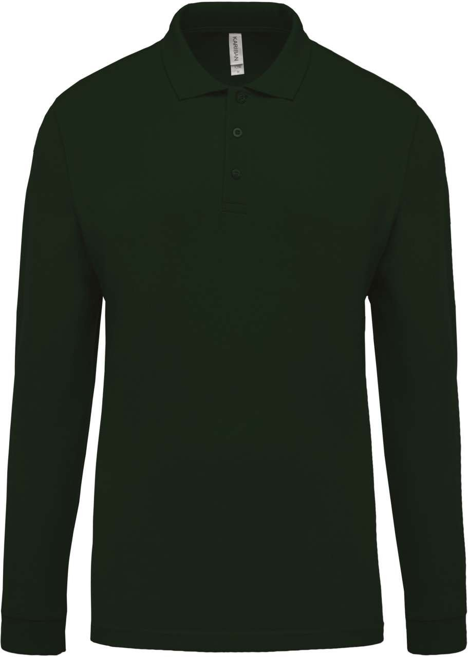 Kariban Men s Long Sleeve Polo Shirt b0fa8e437