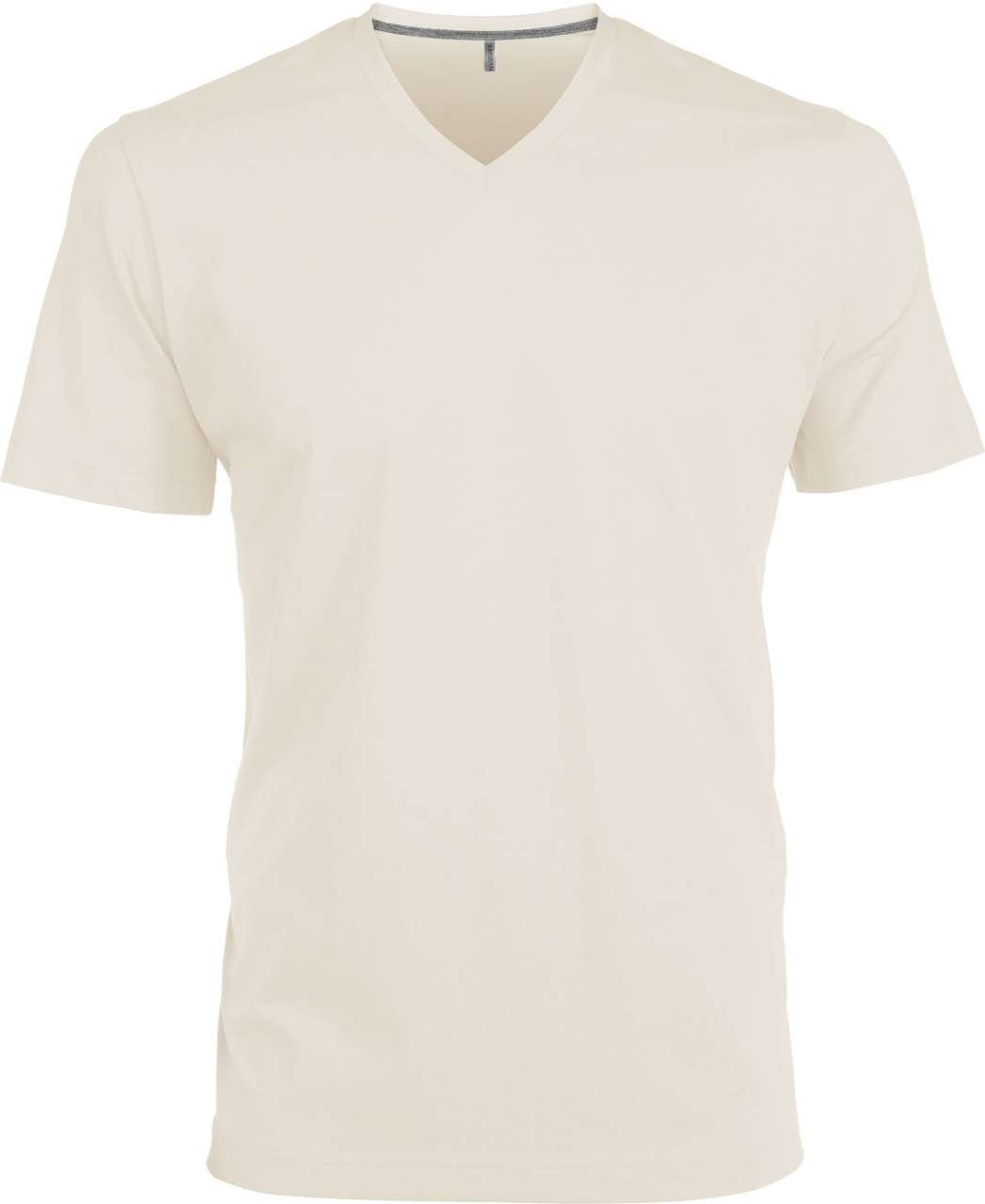 37161a9fad Kariban V-neck T-shirt, Light Sand, L (T-shirt, 90-100% cotton ...
