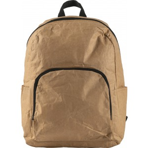 Laminated paper cooling backpack, brown (8259-11)