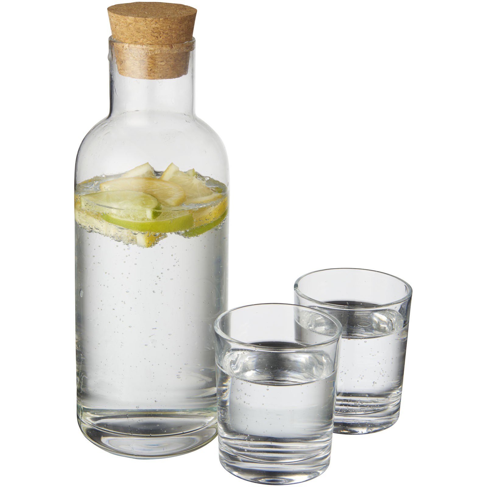 Lane carafe with glass set, transparent, 17 x 10 x 26 cm (kitchen ...