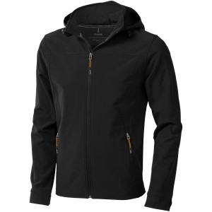 Langley softshell jacket, solid black, S (3931199)