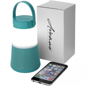Lantern light-up Bluetooth(r) speaker, mint (Speakers, radios)