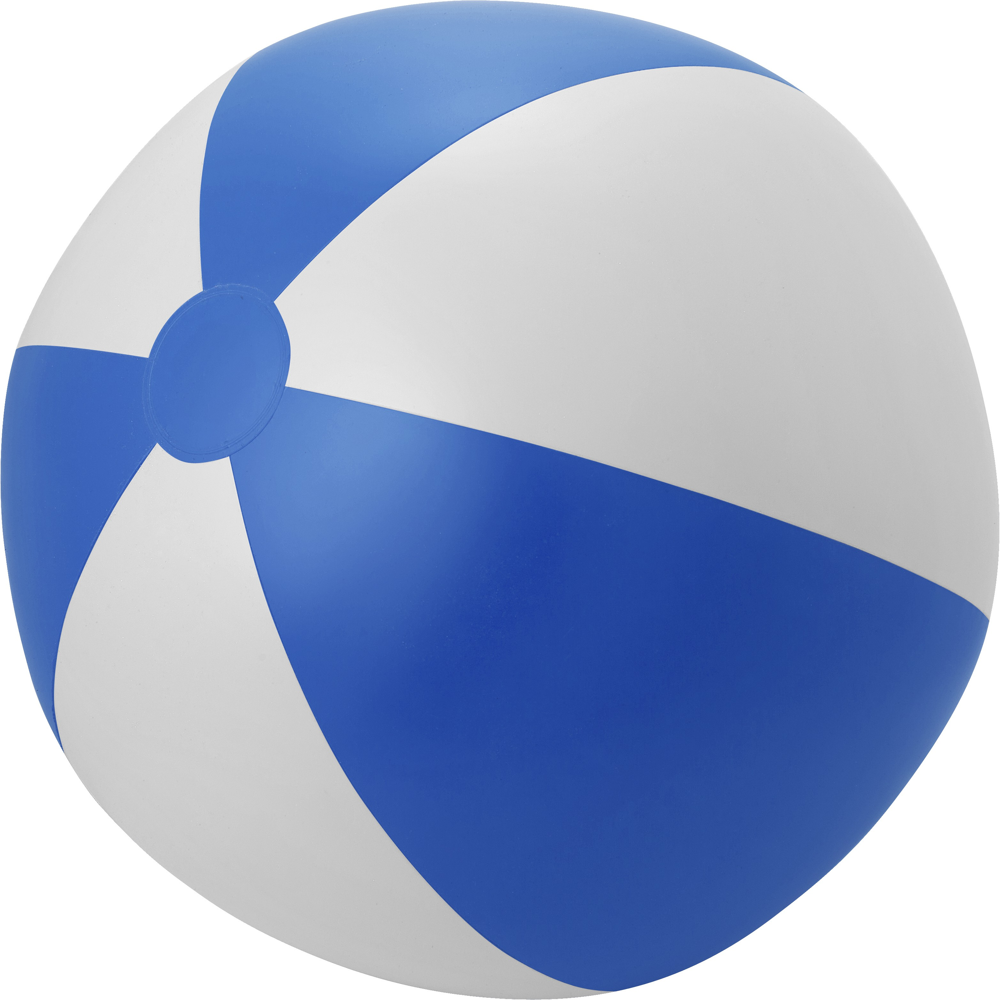Large Pvc Beach Ball Blue White Inflatable Equipment