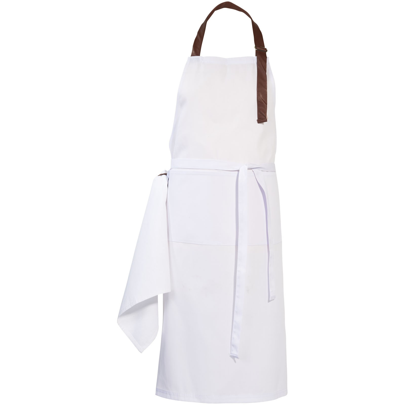 Longwood apron with adjustable neck strap, White (Kitchen ...