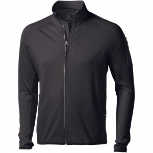 Mani power fleece full zip jacket, solid black, S (3948099)