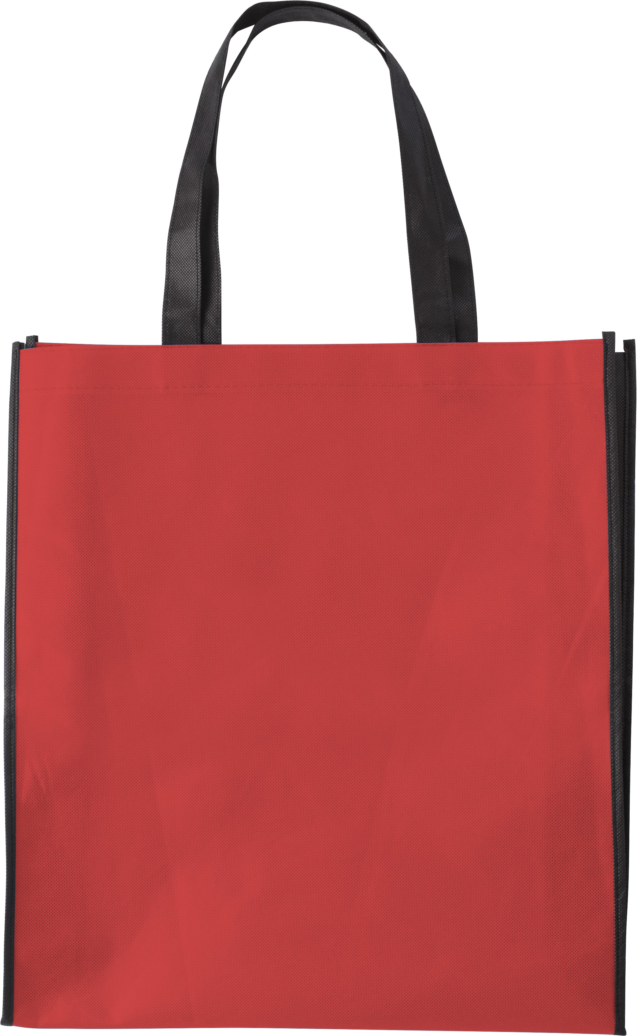 Nonwoven 80 Gr M2 Ping Bag Red Shoulderbbag