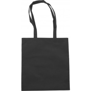 Nonwoven carrying/shopping bag, black (shopping bag)