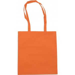 Nonwoven carrying/shopping bag, orange (6227-07CD)