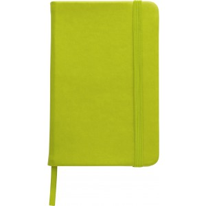 Notebook A6 with PU cover, light green (2889-29CD)