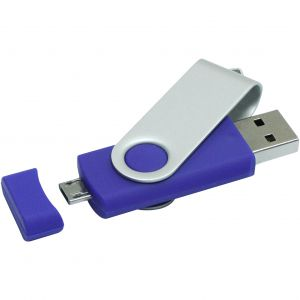OTG Rotate USB Blue 4GB (1Z20120G)
