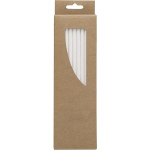 Paper straws, Brown (9223-11)