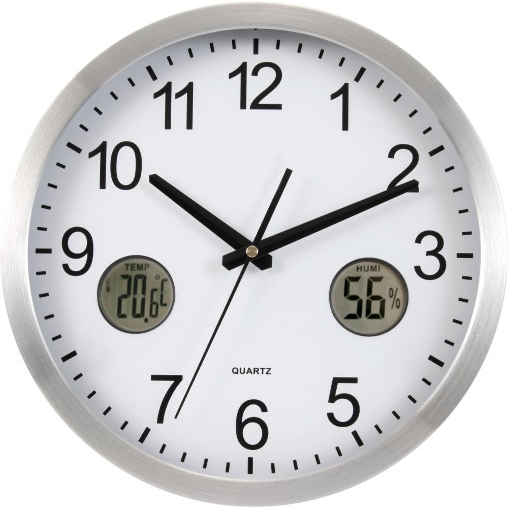 Plastic 30cm wall clock silver reklmajndk ltd plastic 30cm wall clock silver wall clock amipublicfo Images