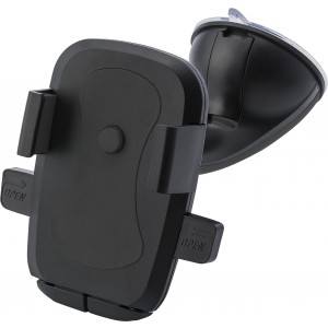 Plastic adjustable mobile phone holder for in a car, black (Car accesories)