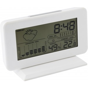 Plastic digital weather station., White (6866-02)