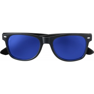 Plastic sunglasses with UV400 protection, Cobalt (7889-23)