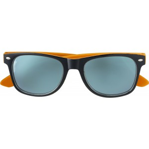 Plastic sunglasses with UV400 protection, Orange (7889-07)