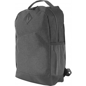 Poly canvas (600D) backpack, Grey (textil document bag)