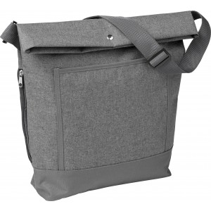 Poly canvas (600D) lady tote bag, Grey (0934-03CD)