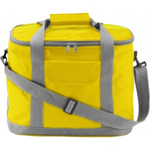 Polyester (420D) cooler bag, yellow (7521-06)