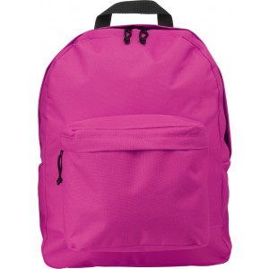 Polyester (600D) backpack, pink (4585-17)