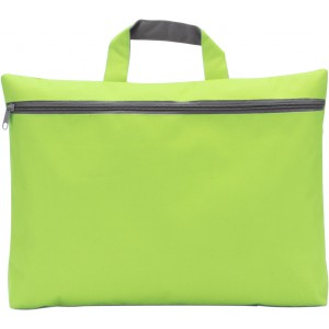 Polyester (600D) conference bag, lime (5235-19)