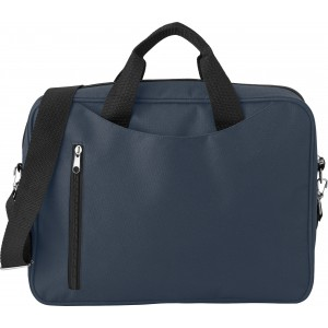 Polyester (600D) laptop bag, blue (3560-05)