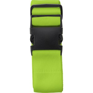 Polyester luggage belt, lime (8405-19)